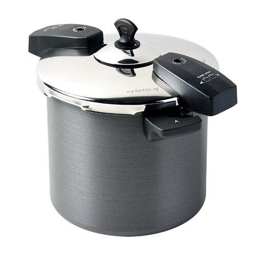 8-Quart Hard Anodized Aluminum Pressure Cooker