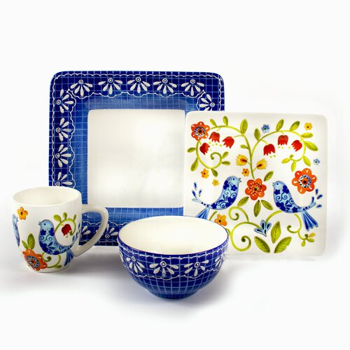 Petra 16 Piece Dinnerware Set