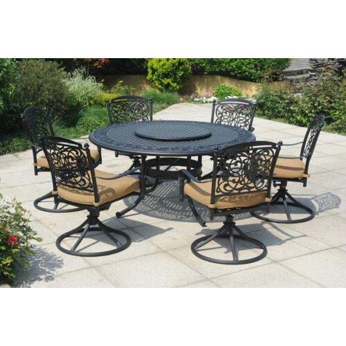 Vining 8 Piece Dining Set with Cushions