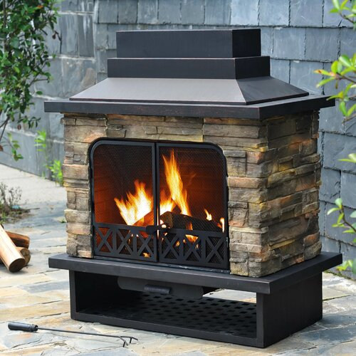 Felicia Outdoor Fireplace