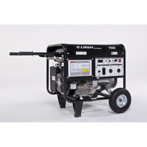 ProSeries 7000 Watt Gasoline Generator with Wheel Kit
