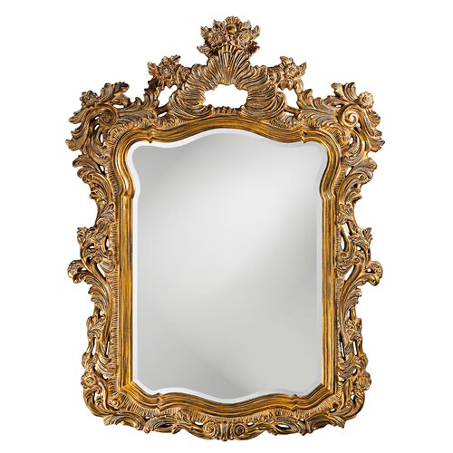 Howard Elliott Ornate Turner Wall Mirror