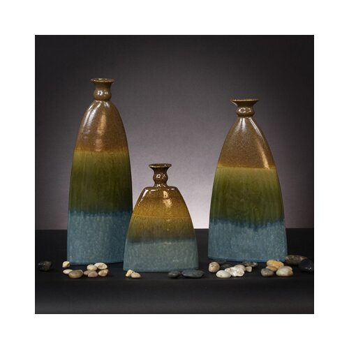 Howard Elliott 3 Piece Vase Set