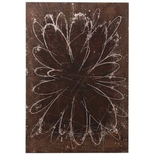 Abstract Flower Original Painting