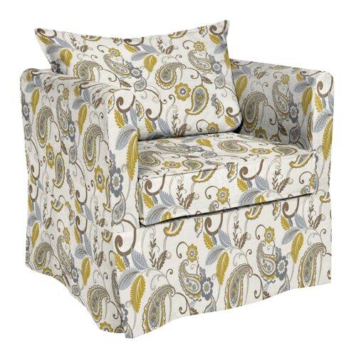 Alexandria Paisley Lagoon Arm Chair