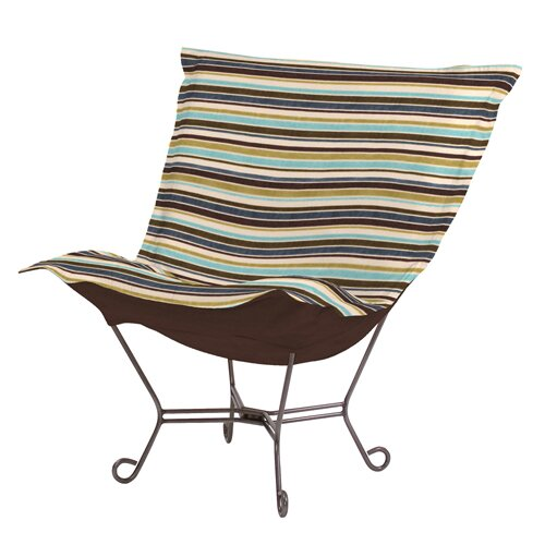 Puff Scroll Ribbon Lounge Chair
