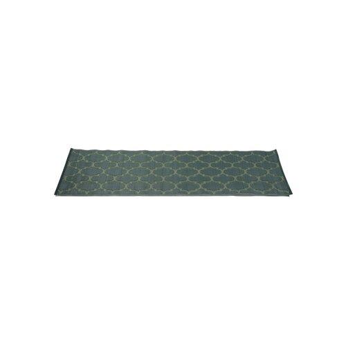 Dark Green Morrocan Road Indoor/Outdoor Rug