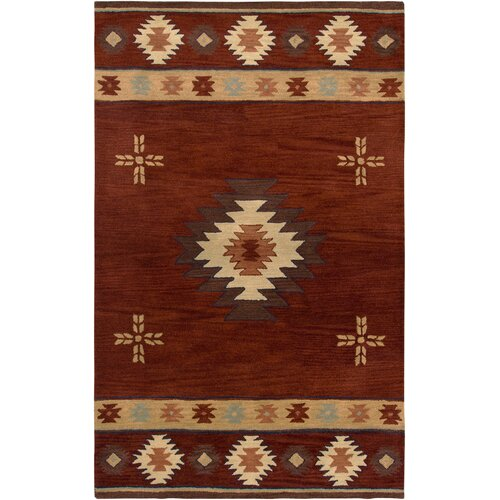 Rizzy Rugs Southwest Red Rug
