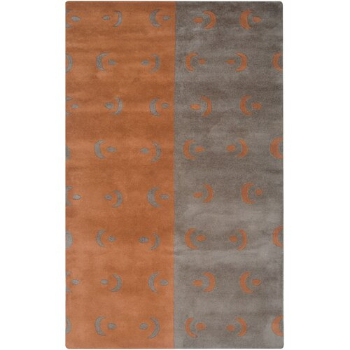 Rizzy Rugs Anna Redmond Grey/Orange Rug