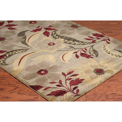 Rizzy Rugs Bayside Ivory Floral Area Rug II