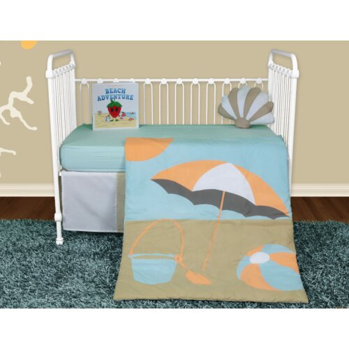 Sun and Sand 5 Piece Crib Bedding Collection