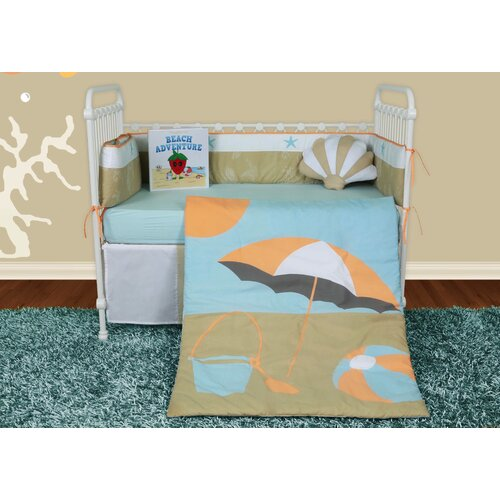 Sun and Sand 6 Piece Crib Bedding Collection
