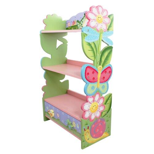 """Fantasy Fields Magic Garden 38"""" Bookshelf"""