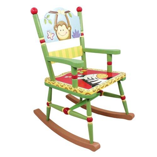 Fantasy Fields Sunny Safari Kids Rocking Chair
