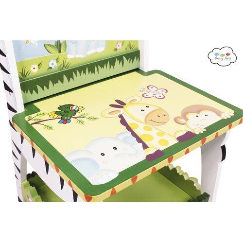 Fantasy Fields Sunny Safari Kids Desk Chair