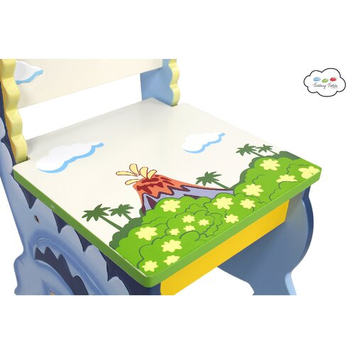 Fantasy Fields Dinosaur Kingdom Kids 3 Piece Table and Chair Set