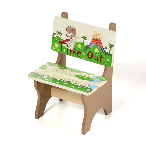 Dinosaur Kingdom Kids Desk Chair