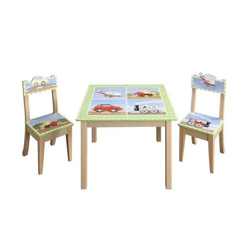 Fantasy Fields Transportation Kids' 2 Piece Chair Set