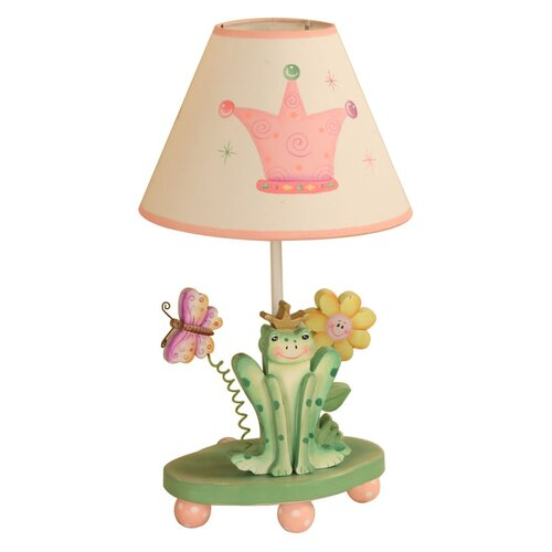 Fantasy Fields Princess and Frog Table Lamp