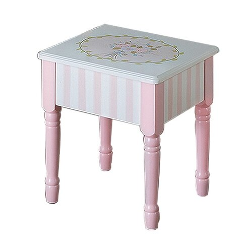 Bouquet Kids Vanity Stool