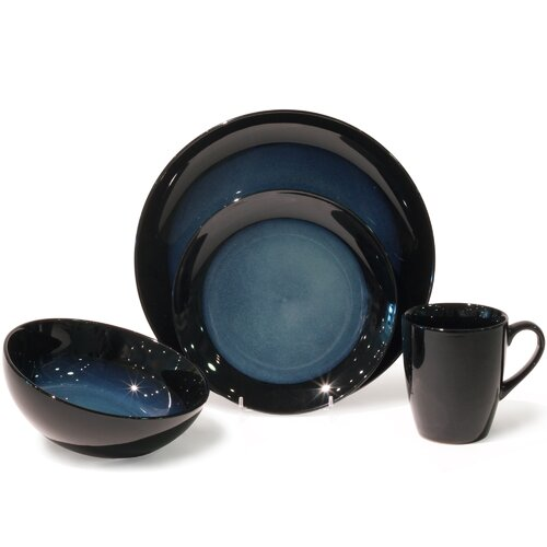 Evening Tide 16 Piece Dinnerware Set