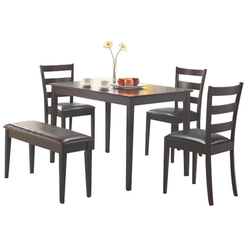 Wildon Home ® Guilford 5 Piece Standard Height Dining Set