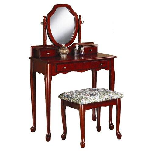 Wildon Home ® Zillah Vanity Set with Mirror