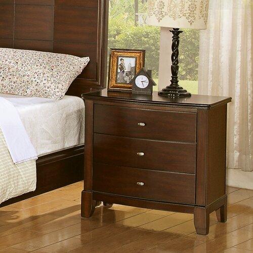 Wildon Home ® Audrey 3 Drawer Nightstand