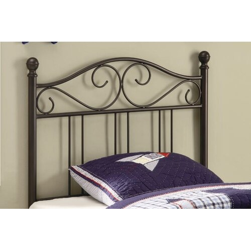 Wildon Home ® Bowdoin Transitional Twin Metal Headboard