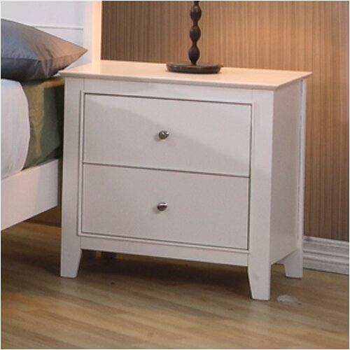 Wildon Home ® Twin Lakes 2 Drawer Nightstand