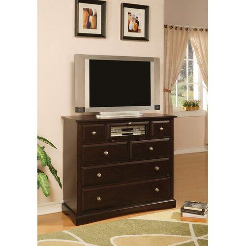 Wildon Home ® Nantucket Media 6 Drawer Chest