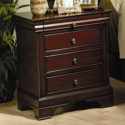 Wildon Home ® Kearny 3 Drawer Nightstand