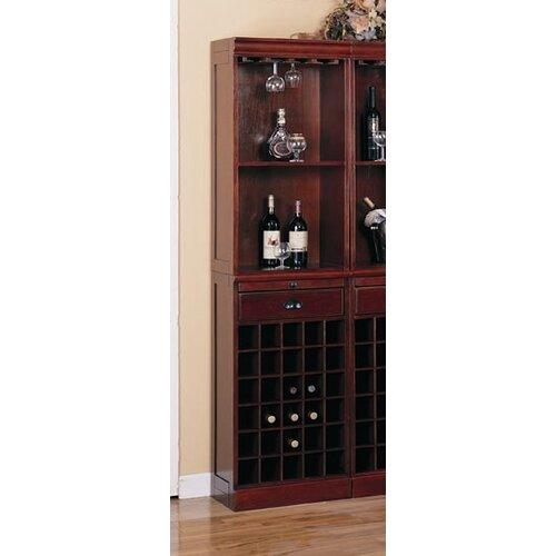 Wildon Home ® Cherry Buffalo Gap Wall Bar