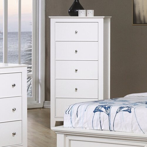 Wildon Home ® Twin Lakes 5 Drawer Chest
