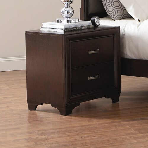 Wildon Home ® Adams 2 Drawer Nightstand