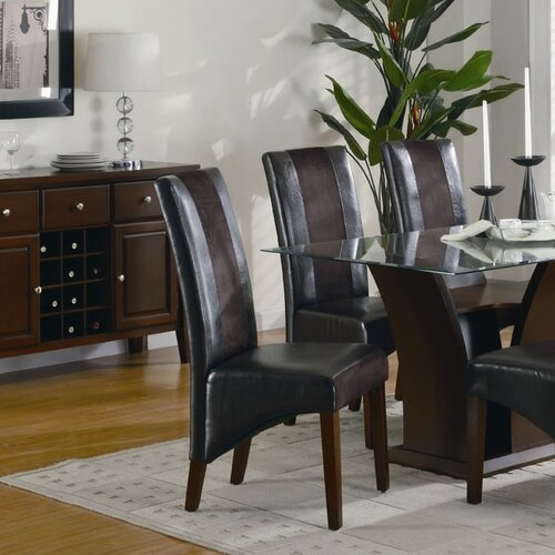 Wildon Home ® Whiting Parsons Chair (Set of 2)