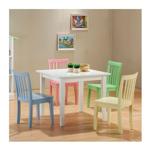 Wildon Home ® Fort Stevens Kids' 5 Piece Table and Chair Set
