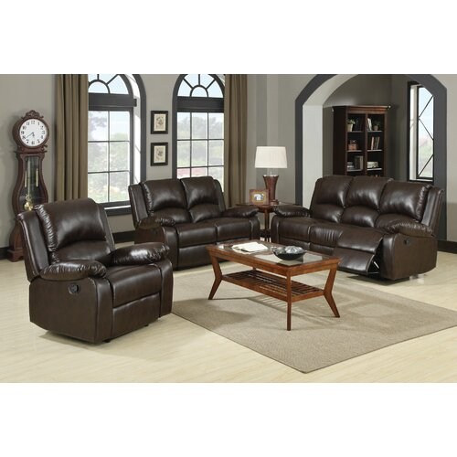 Wildon Home ® New York Reclining Sofa
