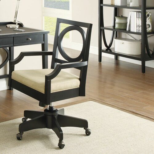 Wildon Home ® Chair with Casters and Padded Seating