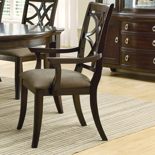 Wildon Home ® Greenport Arm Chair (Set of 2)