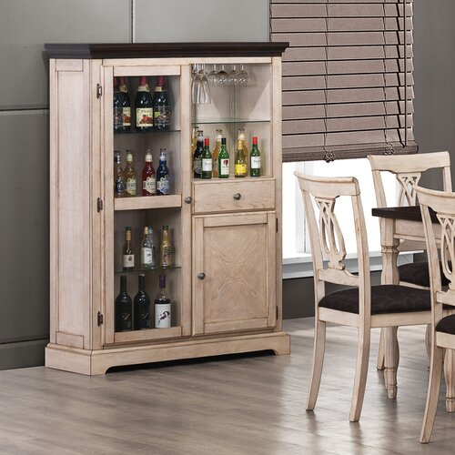 Wildon Home ® Atlantic Bar Cabinet