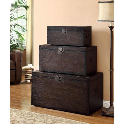 Wildon Home ® Storage Trunk Set