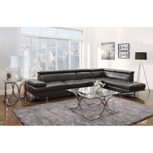 Howard Bonded Leather Sectional