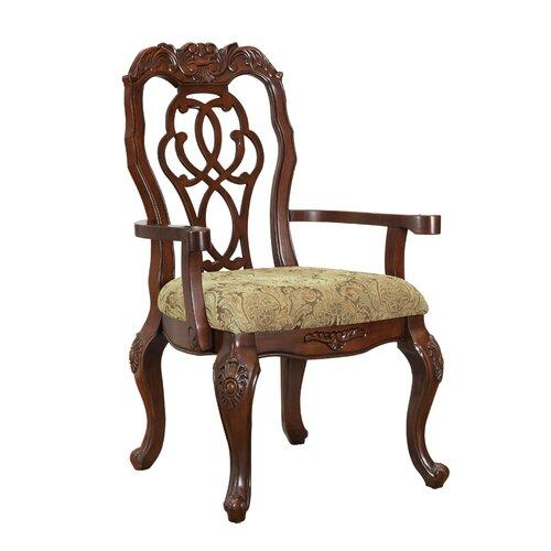 Wildon Home ® Madrid Arm Chair (Set of 2)