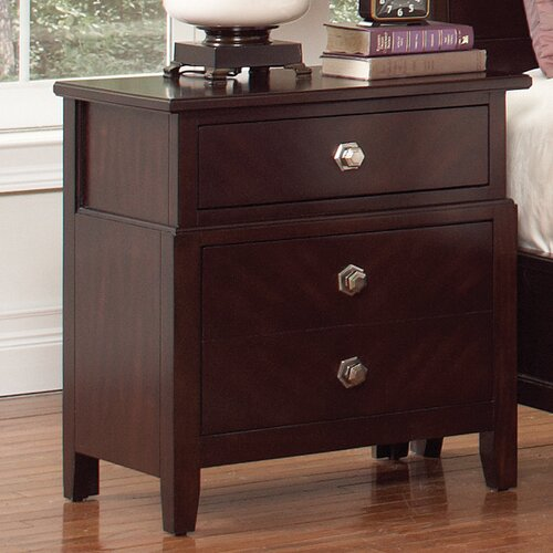 Wildon Home ® Allston 2 Drawer Nightstand