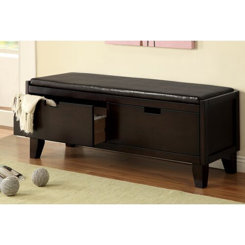 wildon home wood bedroom storage bench reviews wayfair