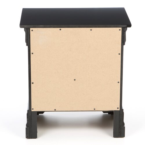 Wildon Home ® Carbon 2 Drawer Nightstand