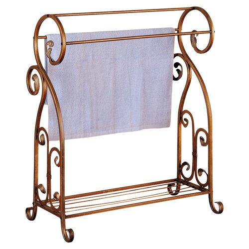 Wildon Home ® Free Standing Tolleson Towel Rack