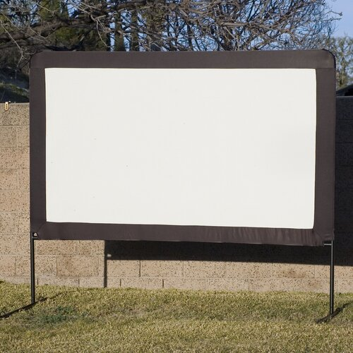 "Elite Screens Dynawhite 100"" Diagonal Portable Projection Screen"