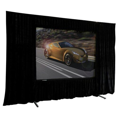 """Elite Screens VMAX2 AcousticPro 100"""" Electric Projection Screen"""